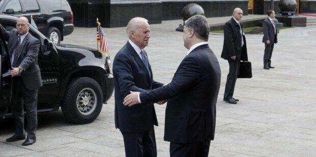 Вице-президент США Джо Байден  и Порошенко