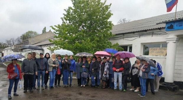 луганчане, ОРДЛО, протест