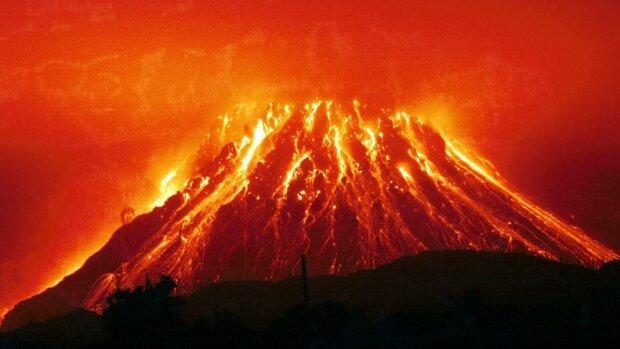 вулкан, извержение, катастрофа, стихия