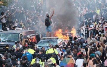 """""""Черный Майдан"""" в США вышел из-под контроля, готовится штурм Белого дома: кадры происходящего"""