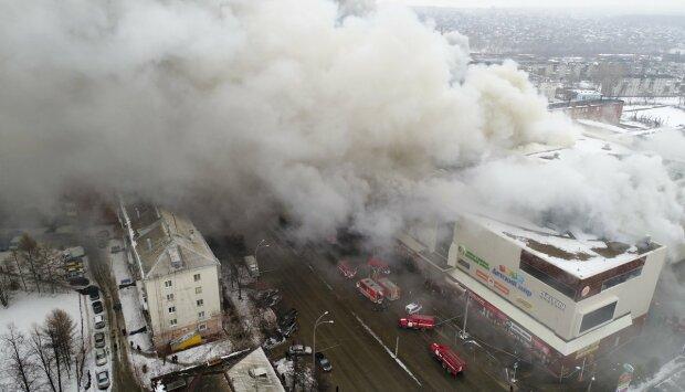 Кемерово-пожар-Зимняя вишня