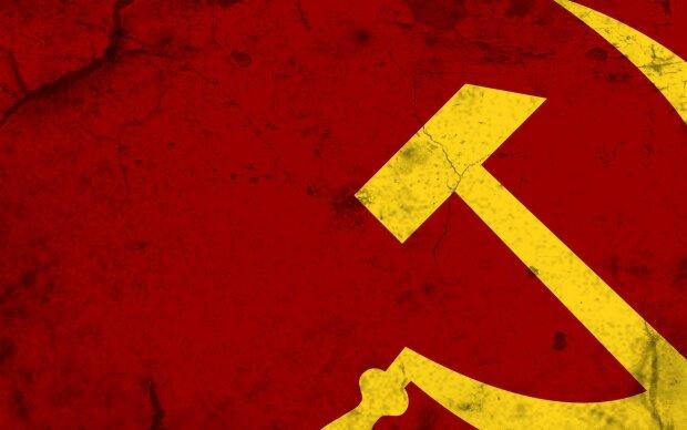 СССР, флаг, серп и молот, Советский союз, Россия