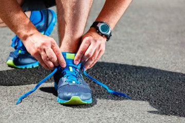 ноги, кеды, бег, спорт