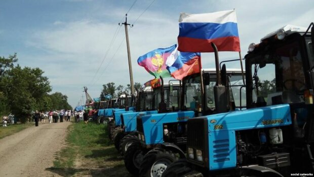 фермеры, москва, марш