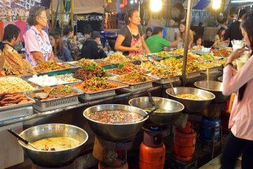 Уличная еда, азия