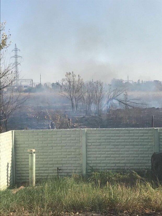 Масштабный пожар вплотную подобрался к Харькову, горят жилые дома: кадры с места ЧП