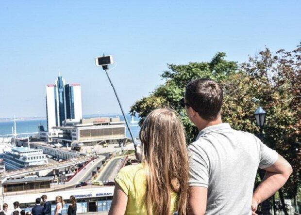 туристы в Одессе