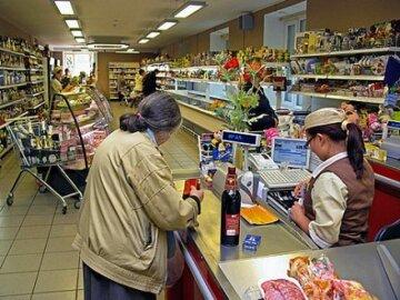 супермаркет, пенсионеры, пиво