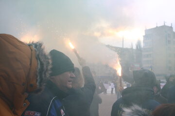 »Садовый убежал»: беспорядки в центре Львова перешли на новый уровень