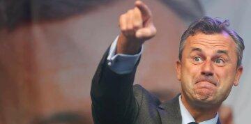 лидер Партии свободы Австрии, кандидат в президенты Норберт Хофер
