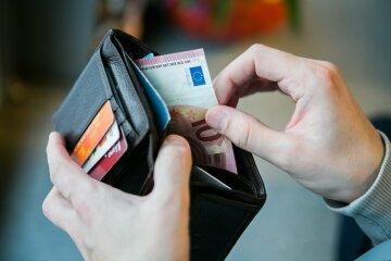курс валют на 31 марта, кошелек, деньги, евро