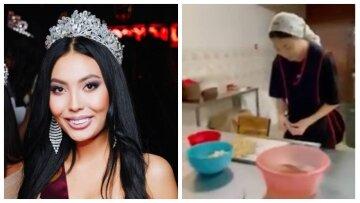 Королева красоты превратилась в посудомойщицу, подробности ее жизни поражают:  «Девушка осталась без родителей и...»