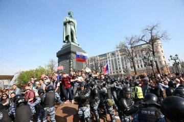 Россия, митинг