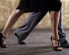 ноги танцы