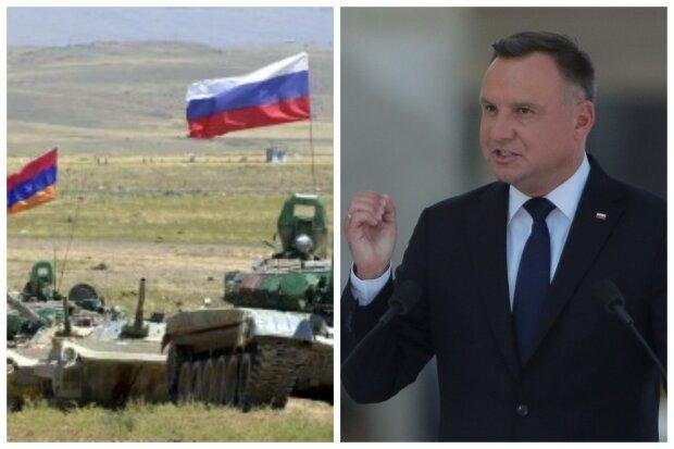 """Президент Польщі Дуда закликав світ об'єднатися проти агресії Росії: """"Для захисту України і..."""""""