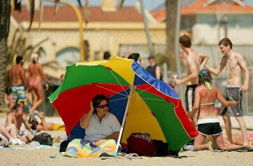 пляж, отдых, отпуск