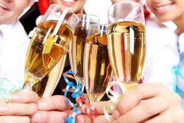 шампанское корпоратив праздник