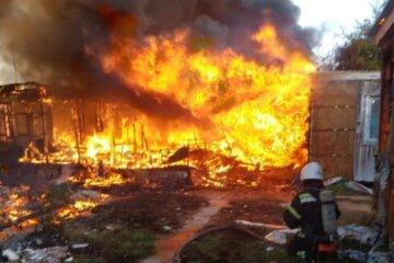 Масштабный пожар разгорелся в Затоке: 25 людей оказались в эпицентре огня, кадры с места