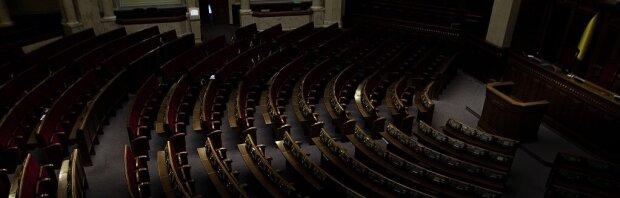 Верховная Рада в темноте