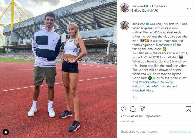 """Самая красивая легкоатлетка Алиса Шмидт в эффектных разрезах показала настоящий соблазн: """"Будь моей!"""""""