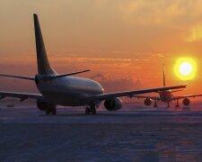 самолеты, аэропорт