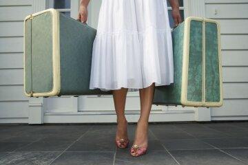 чемодан турист отдых