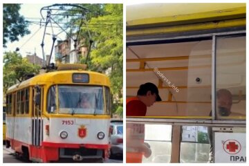 """В одеському трамваї орудує шахрай, відео: """"заходить в транспорт і збирає..."""""""