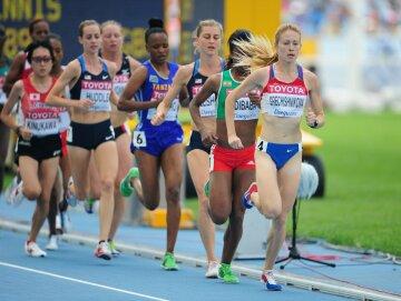 бег легкая атлетика спорт