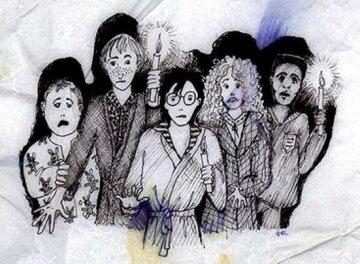 Роулінг показала свої ілюстрації до «Гаррі Поттера»