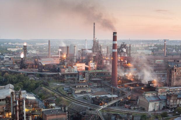 днр, завод, оккупированные территории