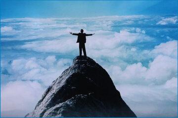 успех, вершина, победа