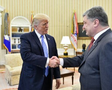 порошенко, трамп