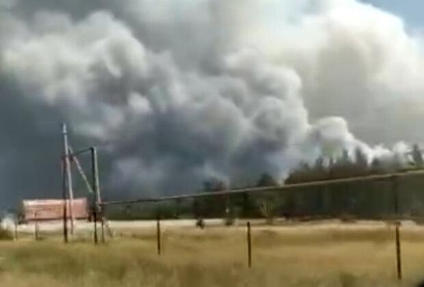 Масштабна пожежа підібралася до домівок українців, людей масово евакуюють: кадри вогняної НП