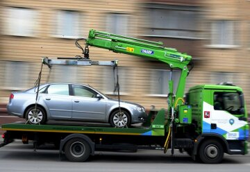 правила парковки, эвакуатор