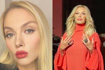 """Оля Полякова в пір'ї замість кокошника вирішила переспівати Таїсію Повалій, відео: """"Загубила..."""""""