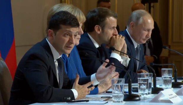 нормандская встреча, Владимир Зеленский и Владимир Путин