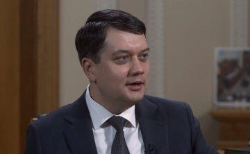 Разумков поддержал полный запрет на импорт российско-белорусской электроэнергии