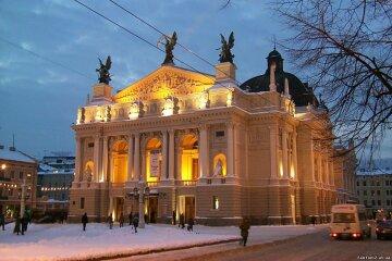 Львов оперный театр