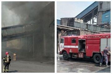 Пожар произошел на украинском коксохиме, в небо повалил черный дым: кадры и важное сообщение ГСЧС