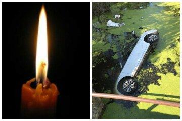 Авто на скорости влетело в реку, есть жертвы: детали фатального ДТП
