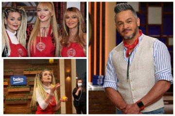 """Полякова, Гросу і TAYANNA вразили Ектора своїми талантами на кухні МастерШеф: """"Класнючі"""""""