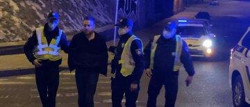 """Кадры с места нападения скандального зама Кличко на полицейского, бил в лицо: """"От вас и следа не будет"""""""