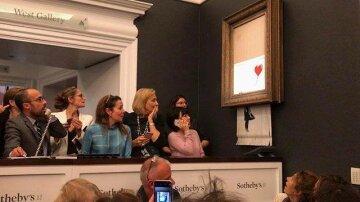 Самоуничтожение картины Бэнкси: всплыла правда о соучастнике художника