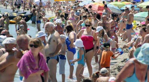 люди, туристи, пляж, море