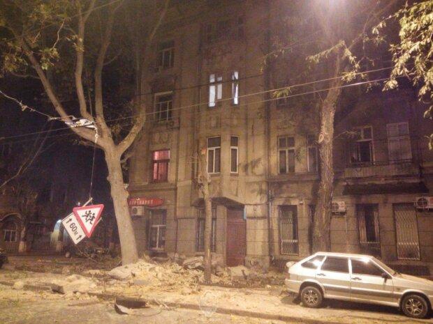 Одесса обрушение дома