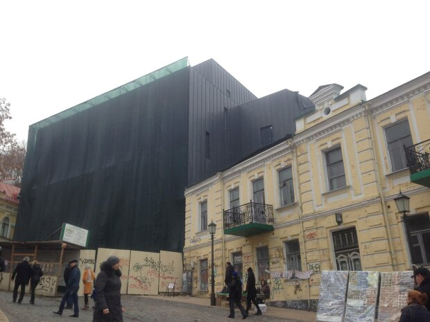 Как выглядит изнутри скандальный театр на Подоле (фото)