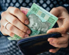 кошеле, деньги, украинцы, счет, гривна