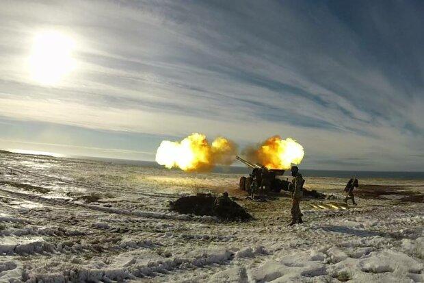 «Опасная и впечатляющая красота»: ВМС Украины провели учебные стрельбы по морским целям (фото)