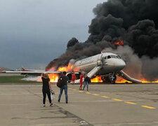 самолет Sukhoi Superjet, шереметьево