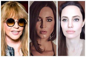 """Пугачова, Бузова, Анджеліна Джолі та інші зірки, у яких є """"скелети"""" в шафі: топ цікавих фото"""